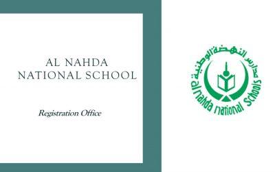 Second Semester for Al Nahda National Schools