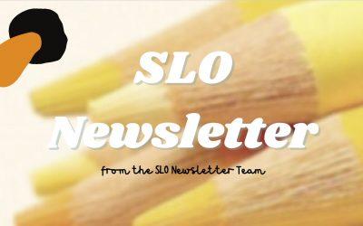 SLO Newsletter term 2